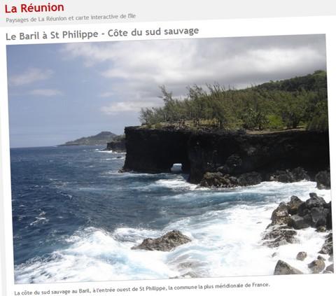 Le site Reunion-ile - 1280 pixels de large
