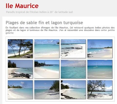 Ile Maurice - Blog