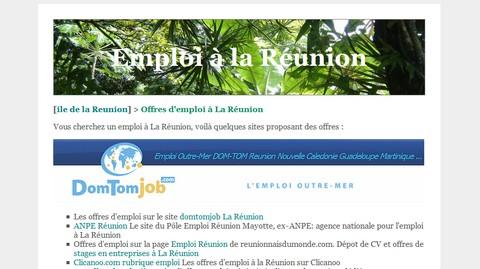 Emploi à La Réunion